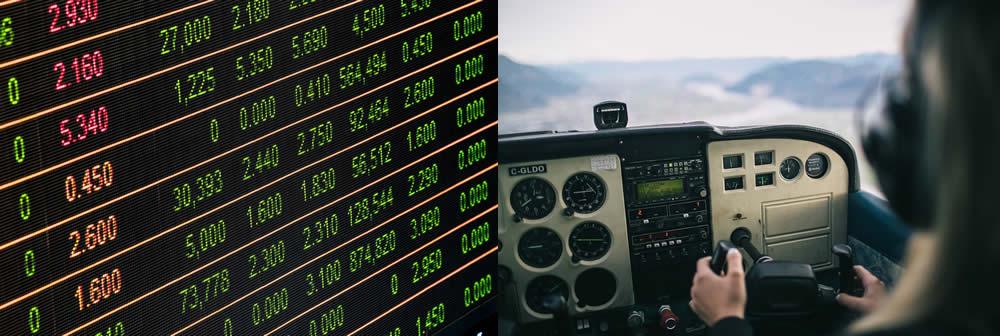 High flyers? Finance & Pilots