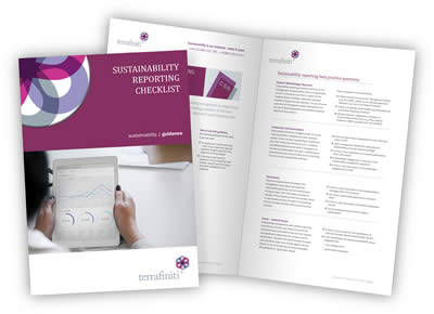 Sustainability Reporting Checklist - document image