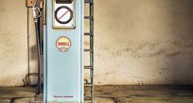 Diesel and petrol car ban - retro energy, petrol pump